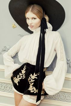 Ulyana Sergeenko Couture 2013 ~ Nat & G Inspirations