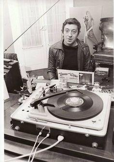 people-vinyl: Serge Gainsbourg Merci jpsx ! Plus