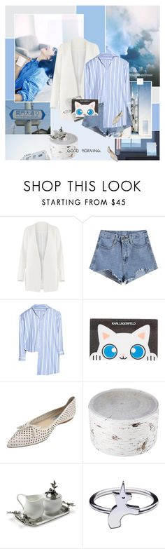 """Good Morning Sunday~"" by rainie-minnie ❤ liked on Polyvore featuring Nana', Non, Vetements, Karl Lagerfeld, Prada, MeroWings, Vagabond House and Rachel Balfour Jewellery"