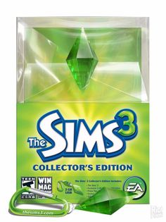 (NEW SEALED) THE SIMS 3 COLLECTORS EDITION WINDOWS MAC PC VIDEO GAMES 2GB USB  #EA