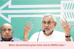 Bihar Government gives final nod to RERA rules !  http://www.rerafiling.com/rera-article-detail.php/432/bihar-government-gives-final-nod-to-rera-rules