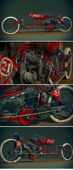 1915 Indian Board Track Bike :: By Craig Kitzmann