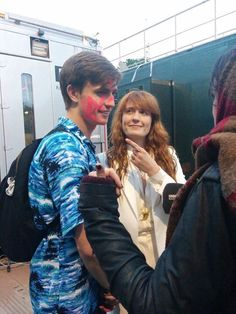 Florence with her brother, JJ