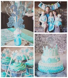 This amazing FROZEN THEMED BIRTHDAY PARTY was submitted by Jenna Sefkow of Hackberry Adventures....  http://www.bloglovin.com/frostedevents