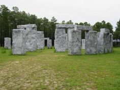 These 10 Very Strange Things In Alabama Will Make You Stop And Look Twice – At Least!!----10. Bamahenge - Elberta, AL