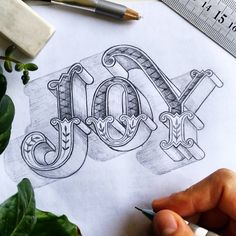 J O Y 🤹 . #chalkartproject #joy #sketch #londondesigner #lettering #handlettering #handdrawn #type #artoftype #typegang #typeyeah… Creative Lettering, Cool Lettering, Lettering Styles, Lettering Design, Calligraphy Letters, Typography Letters, Typography Sketch, Engraved Frames, Drawing Letters