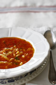 Soup Recipes, Healthy Recipes, Romanian Food, Yummy Appetizers, Chana Masala, Stay Fit, Paste, Food Porn, Food And Drink