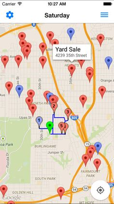 Yard Sale Items In Demand Garage Sale Treasures Yard Sale Yards - Garage sale treasure map