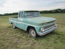 1963 Chevrolet Custom Fleetside Pickup | Proxibid Auctions
