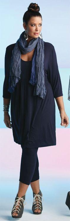 BLUEBERRY CAMY DRESS## - Dresses - My Size, Plus Sized Women's Fashion & Clothing