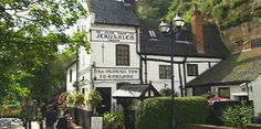 Carved into the rock beneath Nottingham castle, and named after Richard the Lionheart's departure for the Crusades, this is the oldest inn in England