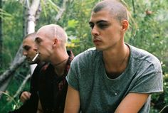 Fear of God Second Collection–Los Angeles label Fear of God unveils their latest collection imagery for Brother's Keeper. Russian Boys, Draw On Photos, Skinhead, Tough Guy, Men Street, Haircuts For Men, Bad Boys, Campaign, Spring Summer