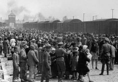 Selection of Hungarian Jews on the ramp at the death camp Auschwitz-II (Birkenau) in Poland during German occupation, May/June 1944 Photo By: WIKIMEDIA