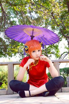 Gintama cosplay - cute Kagura Yato