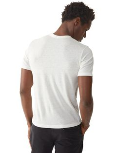 These shirts are rad. Basic Eco-Jersey Crew T-Shirt | Alternative
