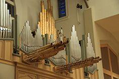 https://flic.kr/p/6BmvWN | La Casa de Cristo Lutheran Church in Scottsdale | The new Berghaus organ was played by Peter Richard Conte, organist of the Wanamaker Organ in Philadelphia.