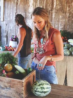 This Free People Shoot Will Make You Want To Become A Farmer #refinery29  http://www.refinery29.com/free-people-sonoma-broadway-farms#slide3