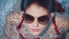 4280634c7f0f Miu Miu Scenique by Francesco Maria Tiribelli. Take a dip with Cindy  Crawford s daughter