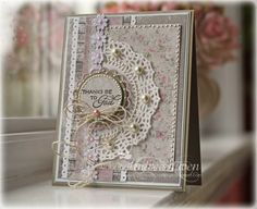 Card by Andrea Ewen using Faith Medley from Verve.  #vervestamps