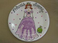 princess hand print