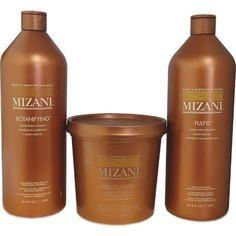 Mizani Fulfyl Conditioning Treatment 33.8 oz, Mizani Moisturfuse Conditioner 30 oz, Mizani Botanifying Conditioning Shampoo 33.8 oz - 3 Set by MIZANI. $58.70. Mizani Moisturfuse Moisturizing Conditioner 30oz. Mziani Fulfyl Conditioning Treatment 33.8oz. Mizani Botanifying Conditioning Shampoo 33.8oz. Mizani Moisturizing Hair Care Kit II