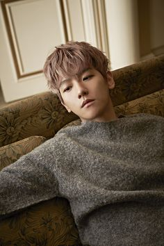 Photographer Moke Najung's website update : Singles Korea, December 2015 Issue - Baekhyun