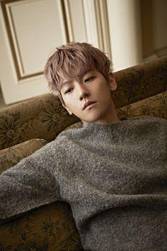 Photographer Moke Najung's website update : Singles Korea, December 2015 Issue - Baekhyun