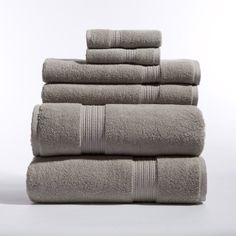 Best Bath Towels 2017 Gorgeous Venice 100Percent Luxury Turkish Combed Cotton Jacquard 6Piece