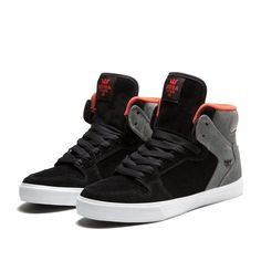 Supra Vaider Black/Grey-white (and salmon?)