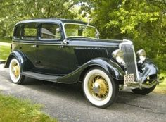 Peter Egan's 1934 Ford Deluxe Sedan