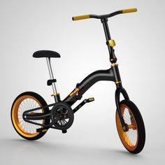 Folding Bike Concept by Chris Locke