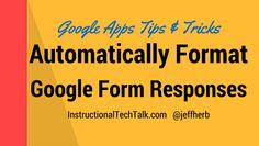 Google Drive - Form Formatting-2