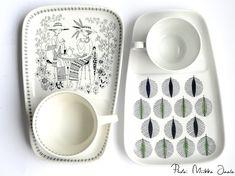 Arabia Emilia - Raija Uosikkisen mestariteos - Vintageunelmia - Finnish vintage blog Decor Interior Design, Interior Decorating, Vintage Designs, Retro Vintage, Kitchenware, Tableware, Crafty, Mugs, Dining
