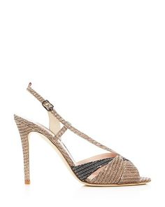 41399dc7376c6  SJP by Sarah Jessica Parker Exultant Metallic Slingback Sandals -  Bloomingdale s Metallic Sandals
