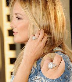 Os anéis de noivado mais extravagantes das famosas   Kate Hudson