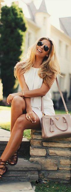 Recommended fashion by http://koslopolis.com New York City Magazine - ⚓ ℂhic ℂhick • Prada