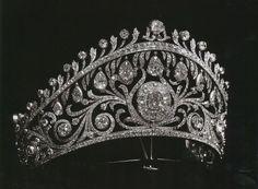 Russian kokoshnik diamond tiara