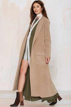 BB Dakota Melton Duster Coat - Jackets + Coats