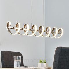 Spiralförmige LED-Balkenpendelleuchte Pierre 9985032