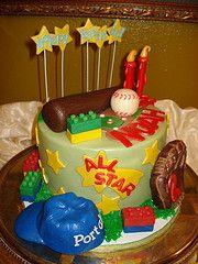 baseball Cake #2