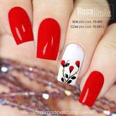 Fancy Nails, Pink Nails, Cute Nails, Elegant Touch Nails, Floral Nail Art, Pretty Nail Art, Artificial Nails, Flower Nails, Simple Nails
