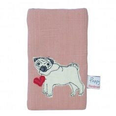 Because we're told everyone loves a pug we bring you our lovely pug phone case, pretty in pink!