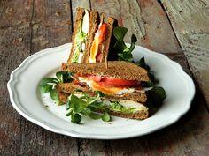 Hungarian Food, Hungarian Recipes, Sandwiches, Salad, Hungarian Cuisine, Salads, Paninis, Lettuce