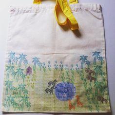 bolsa para todo con asa amarilla - Selva