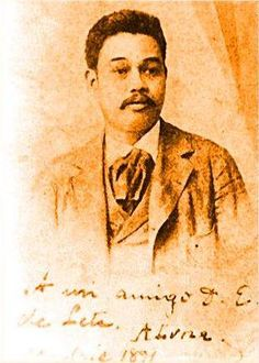 """General Antonio Luna is better known as the brash and abrasive general of Aguinaldo`s who was murdered by the presi-dential guard. But before he came to the Filipino War of Independence, he was an important prppa-gandist. He continued to write for La Solidaridad as """"Taga-ilog"""" through most of its duration. Photo dated 1891."""