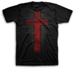 Salvation T-Shirt on SonGear.com - Christian Shirts, Jewelry