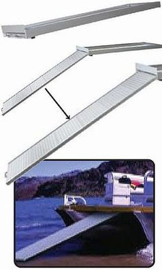 Pontoon Boarding Ramp Pontoon Boat Accessories Plywood Boat Plans Boat Plans