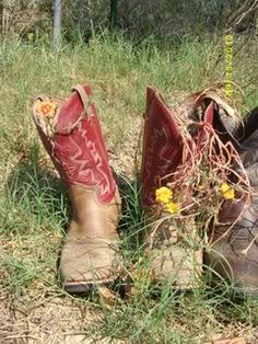 MaryJanesFarm Farmgirl Connection - boot garden