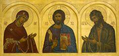 Byzantine Icons, Byzantine Art, Catholic Saints, Roman Catholic, Religious Images, Orthodox Christianity, Orthodox Icons, Kirchen, Christian Faith