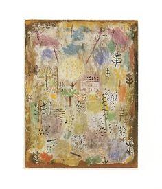 50 Paul Klee Landscahft zw Fruhling Posters